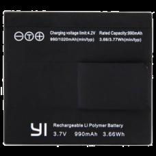Аккумулятор для экшн-камеры Xiaomi Yi 990mAh