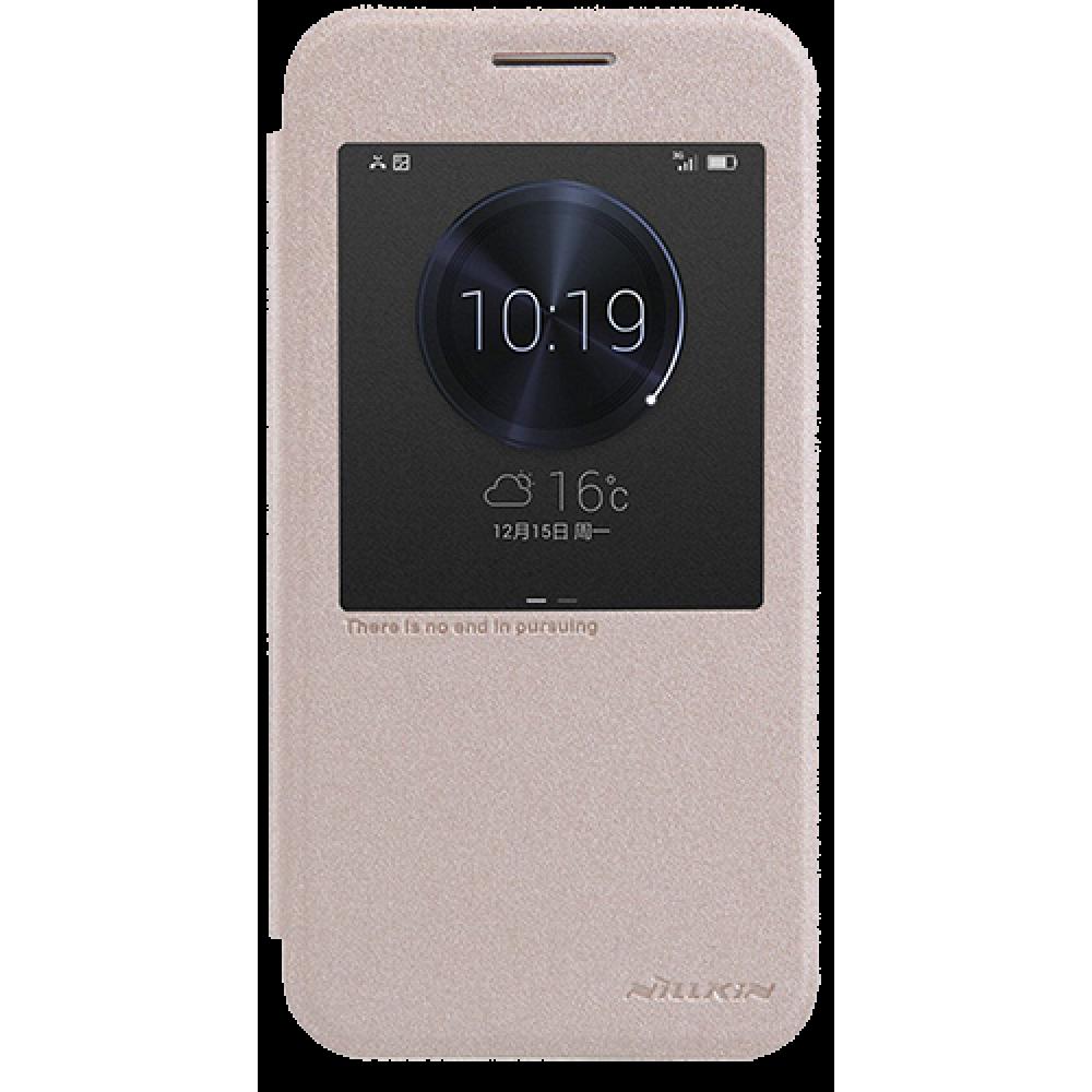 Чехол для Huawei G7 Nillkin золотой
