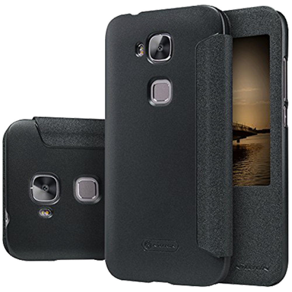 Чехол для Huawei G8 Nillkin черный