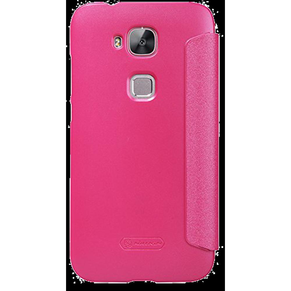 Чехол для Huawei G8 Nillkin розовый