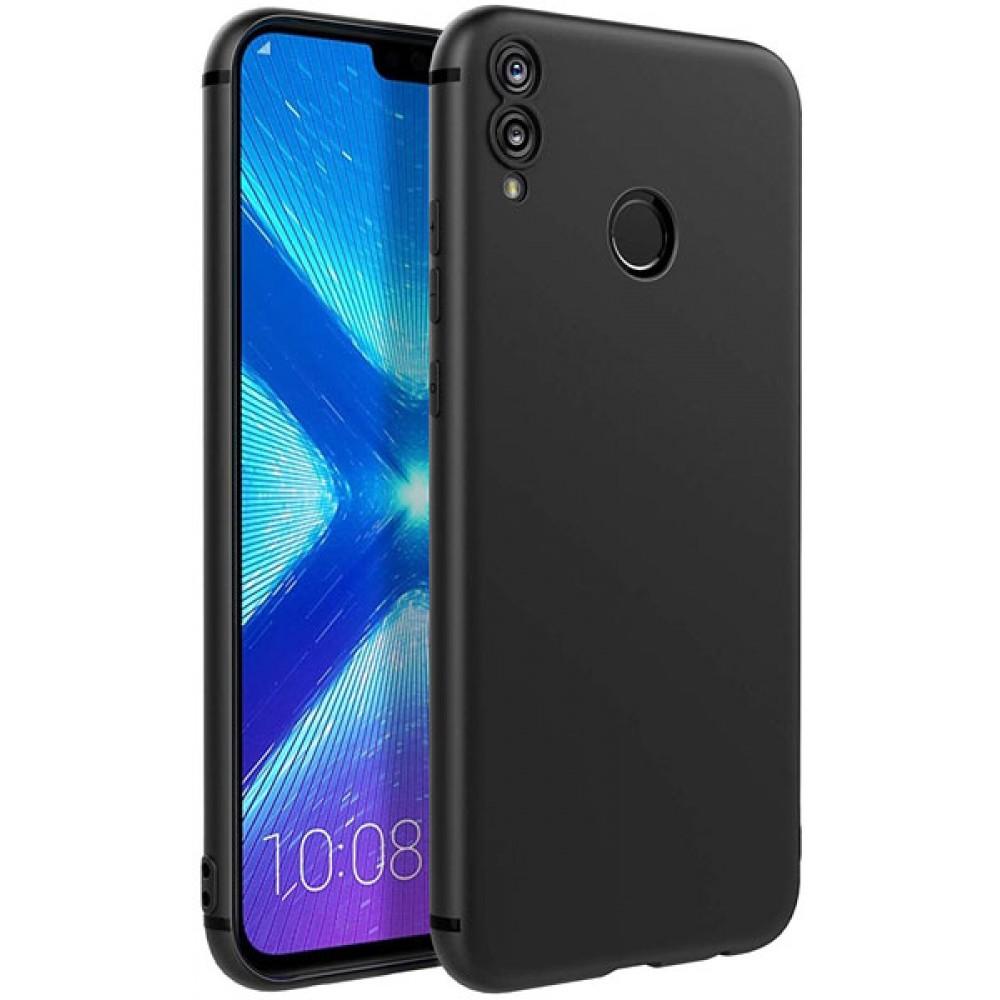 Чехол для Huawei Honor 8X силиконовый черный