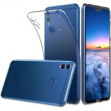 Чехол для Huawei Honor 8X силиконовый прозрачный