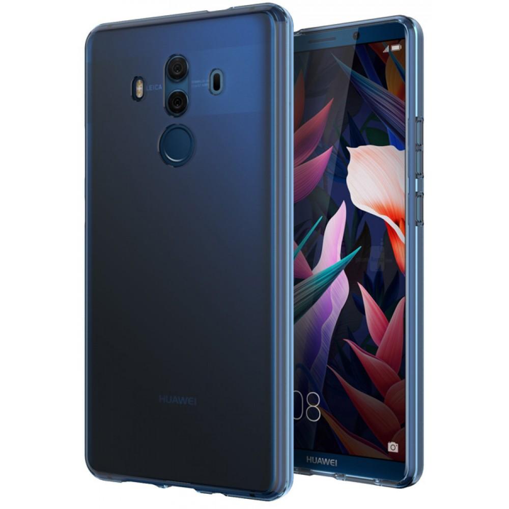 Чехол для Huawei Mate 10 Pro, цвет голубой, матовый