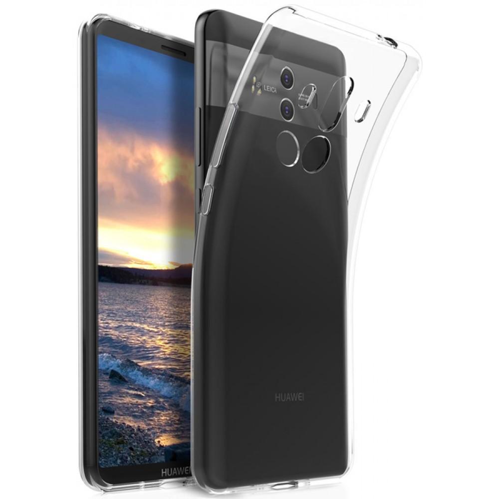 Чехол для Huawei Mate 10 Pro, прозрачный