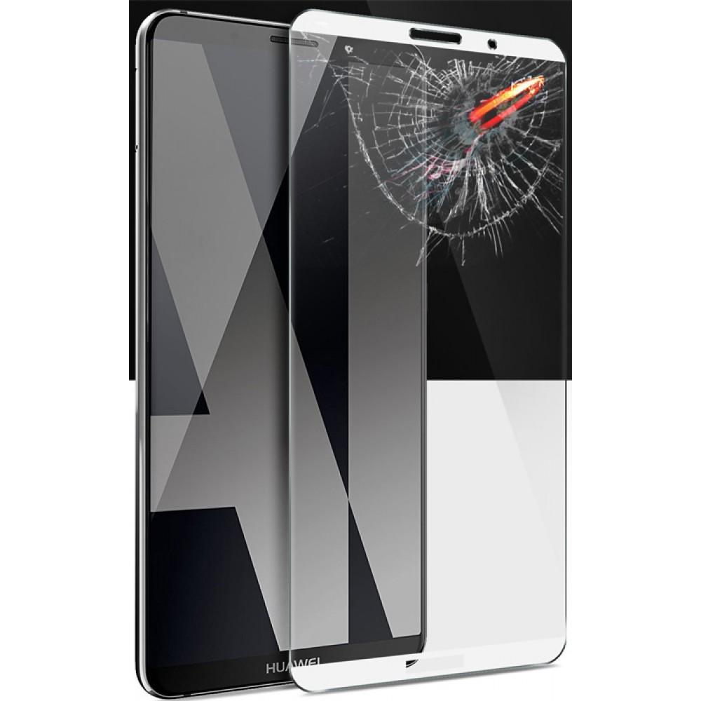 Защитное стекло на Huawei Mate 10 Pro с белой рамкой