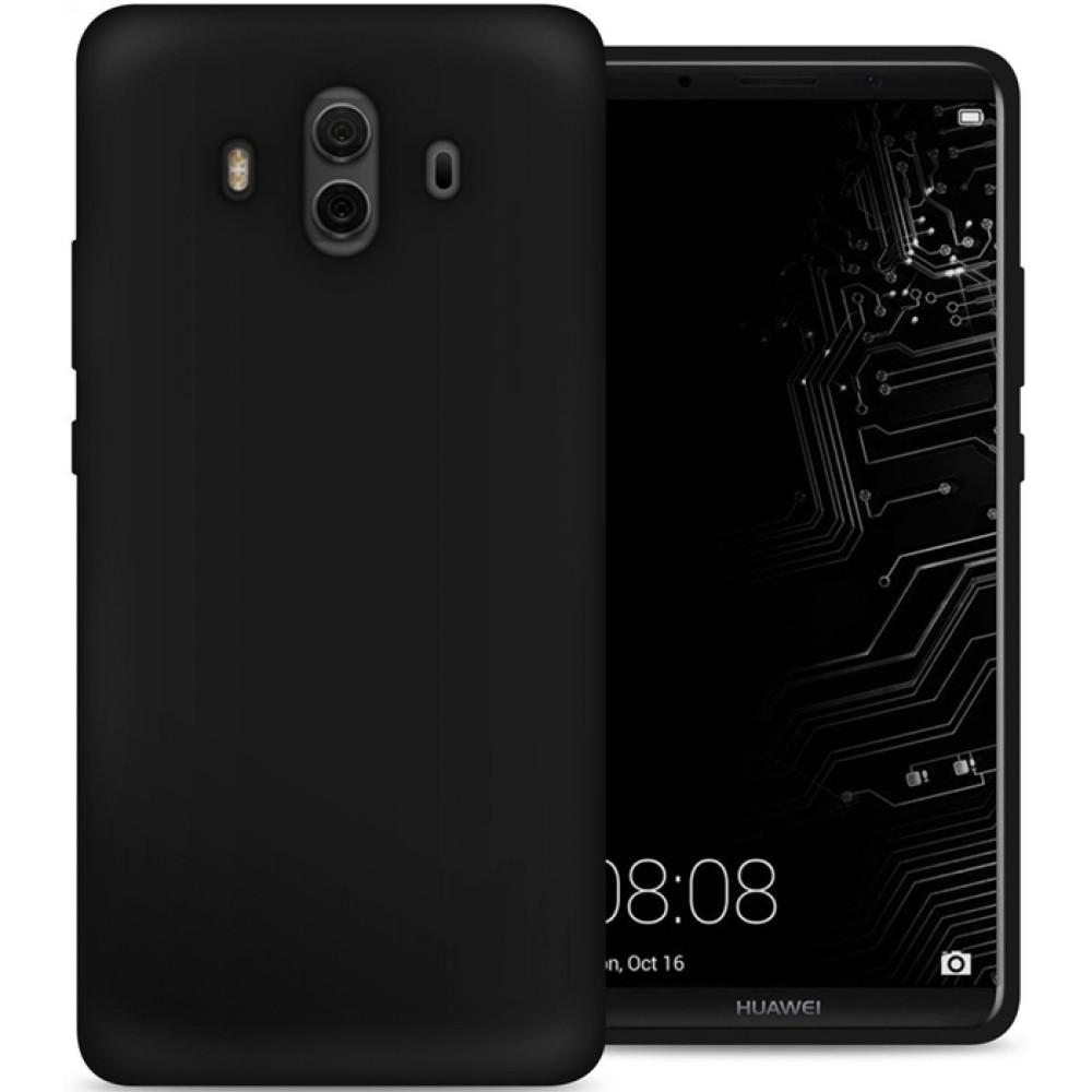 Чехол для Huawei Mate 10, Силиконовый бампер черный