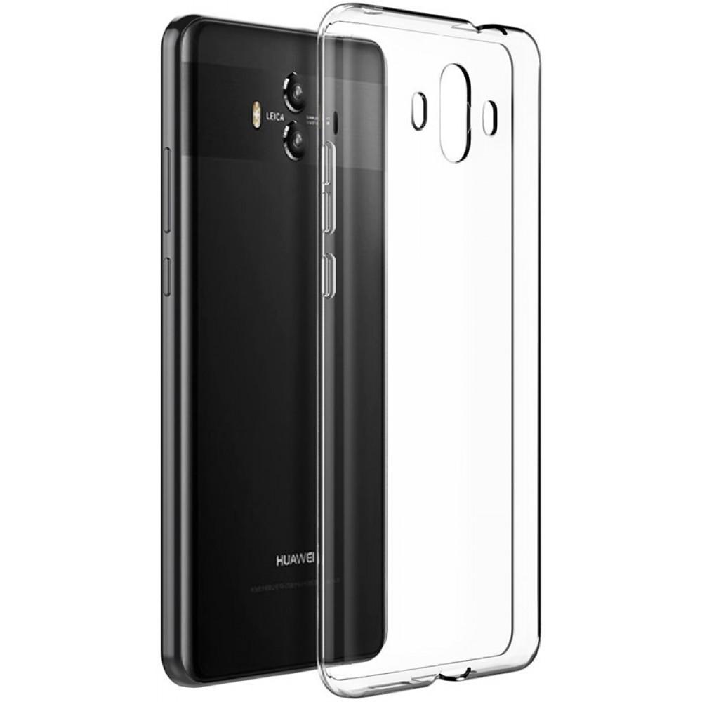 Чехол для Huawei Mate 10, Силиконовый бампер прозрачный