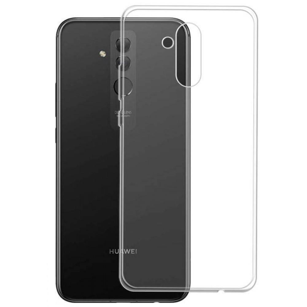 Чехол для Huawei Mate 20 Lite силиконовый прозрачный