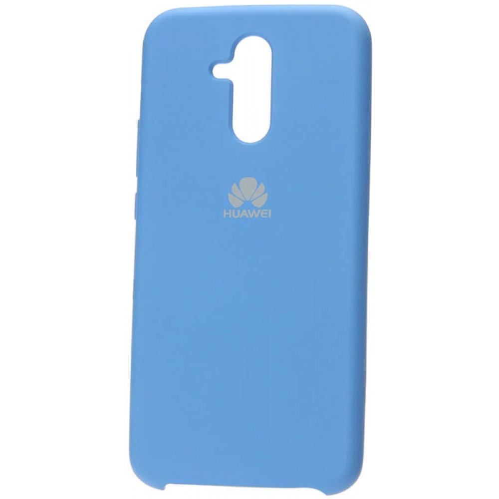 Чехол для Huawei Mate 20 Lite Soft Touch голубой