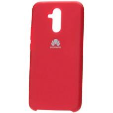 Чехол для Huawei Mate 20 Lite Soft Touch красный