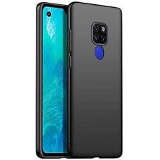 Чехол для Huawei Mate 30 Lite силиконовый черный