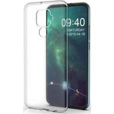 Чехол для Huawei Mate 30 Lite силиконовый прозрачный