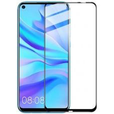Стекло для Huawei Mate 30 Lite с черной рамкой