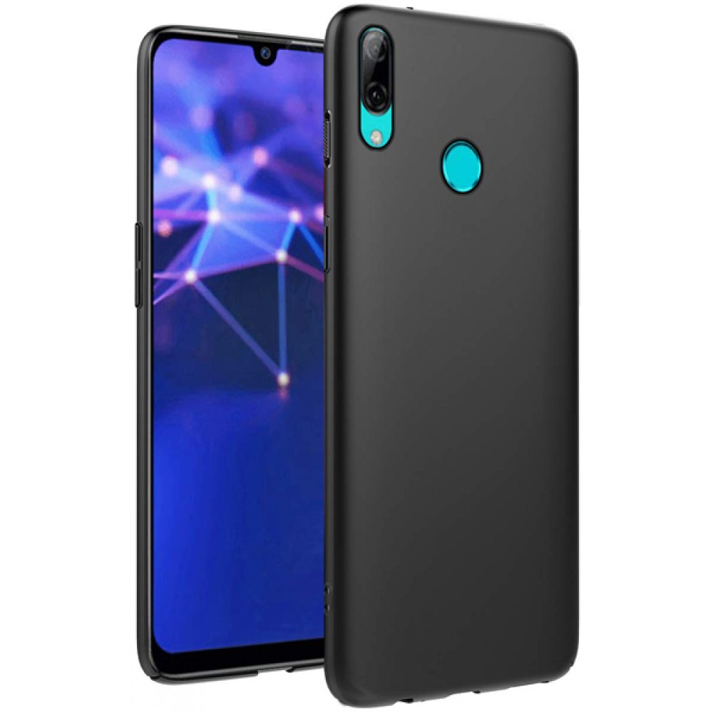Чехол для Huawei P Smart 2019 силиконовый черный