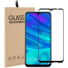 Стекло для Huawei P Smart 2019 с рамкой, полная проклейка