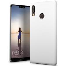 Чехол для Huawei P20 Lite полиуретановый белый