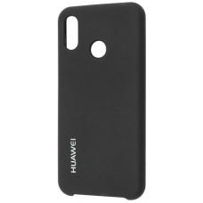 Чехол для Huawei P20 Lite Soft Touch черный