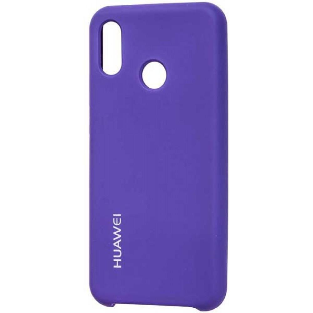 Чехол для Huawei P20 Lite Soft Touch фиолетовый