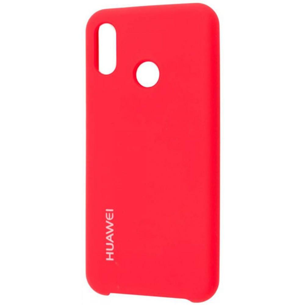 Чехол для Huawei P30 Lite Soft Touch красный