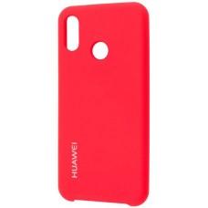 Чехол для Huawei P20 Lite Soft Touch красный