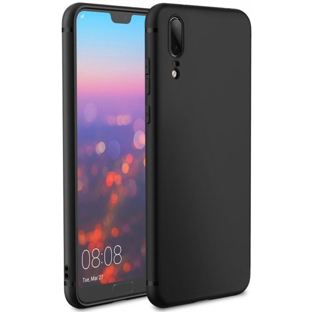 Чехол для Huawei P20 силиконовый черный