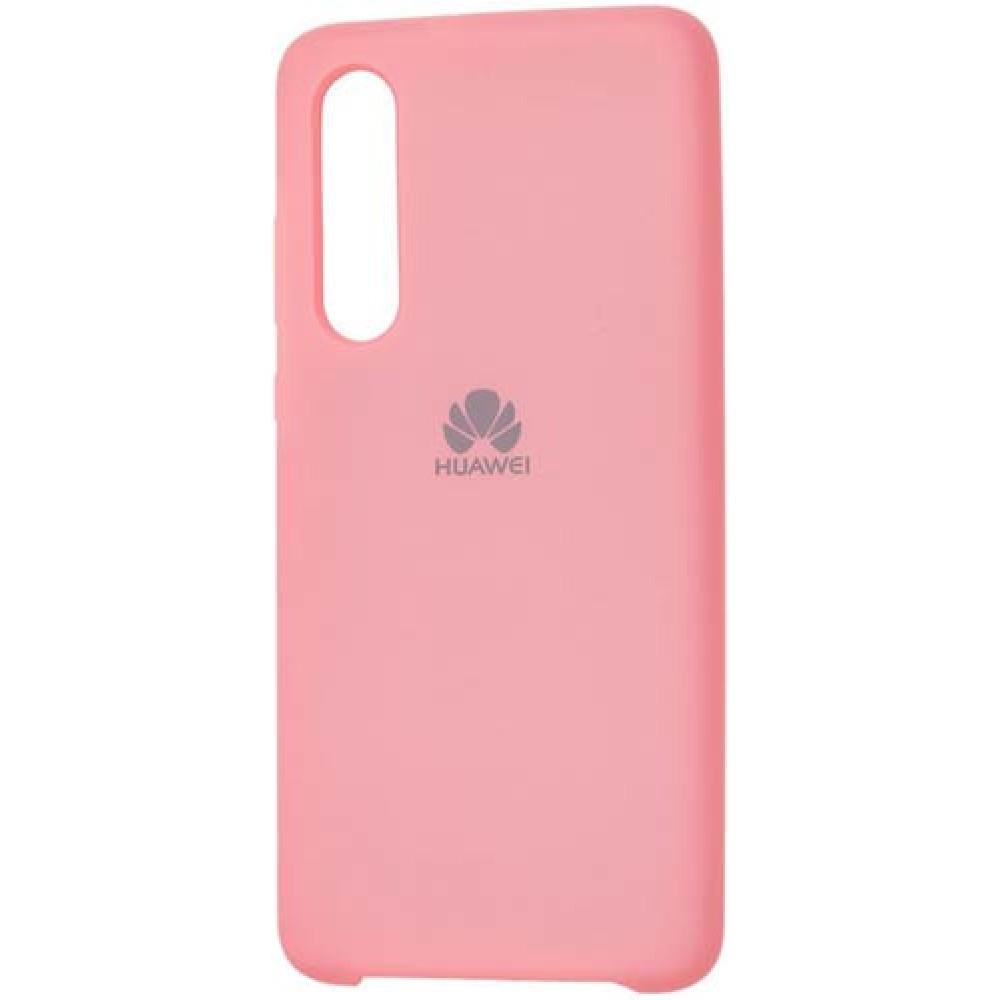 Чехол для Huawei P30 Soft Touch розовый