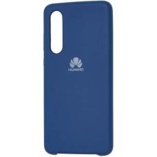 Чехол для Huawei P30 Soft Touch синий
