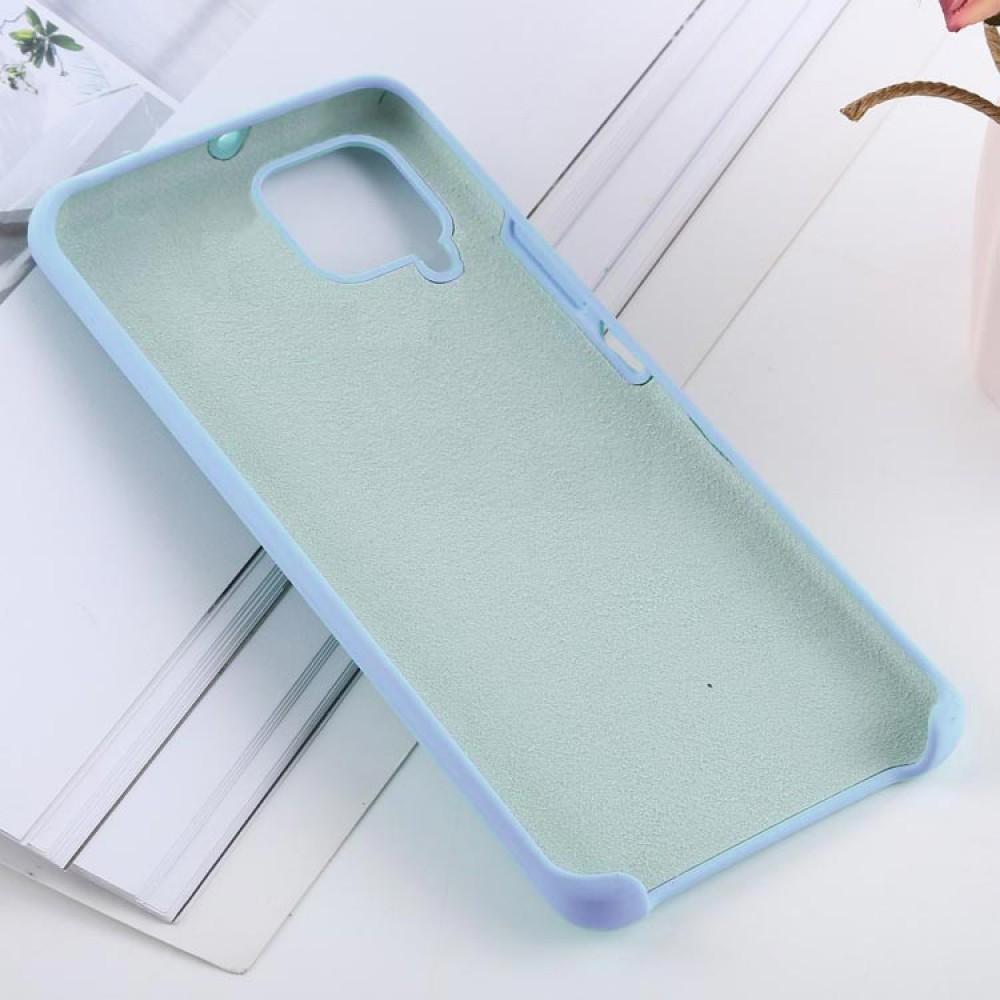Чехол для Huawei P40 Lite Soft Touch голубой