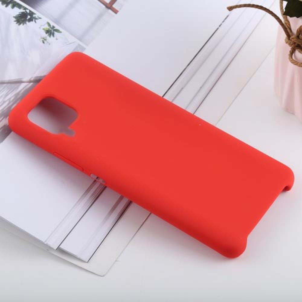 Чехол для Huawei P40 Lite Soft Touch красный