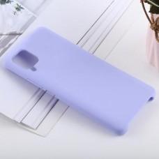 Чехол для Samsung Galaxy A22 4G Soft Touch лиловый