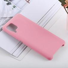Чехол для Huawei P40 Lite Soft Touch розовый