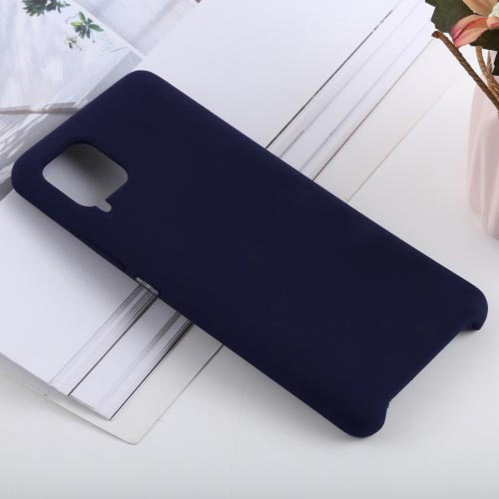 Чехол для Huawei P40 Lite Soft Touch темно-синий
