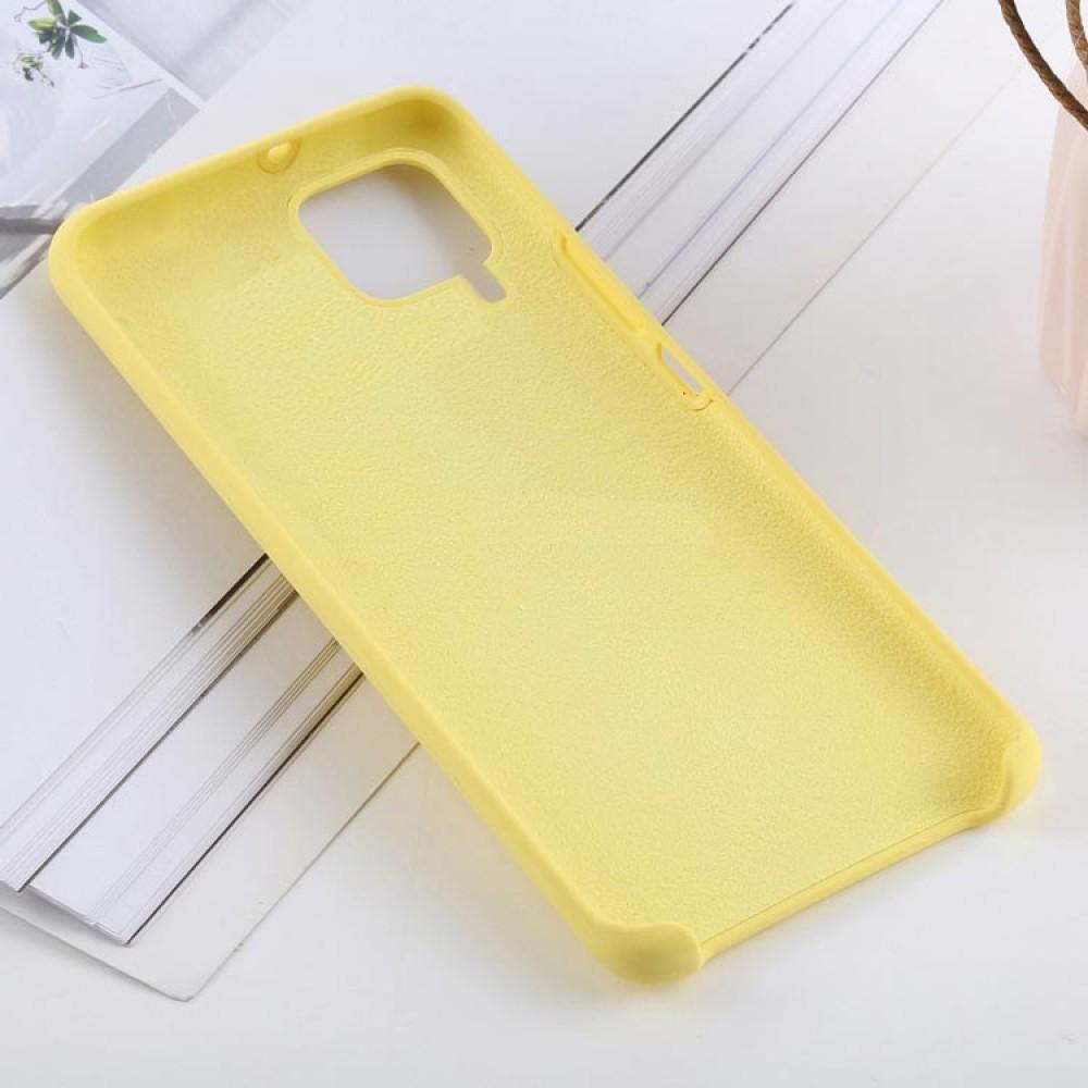 Чехол для Huawei P40 Lite Soft Touch желтый