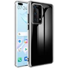 Чехол для Huawei P40 Pro силиконовый прозрачный
