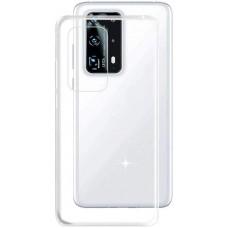 Чехол для Huawei P40 силиконовый прозрачный
