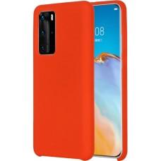 Чехол для Huawei P40 Soft Touch красный