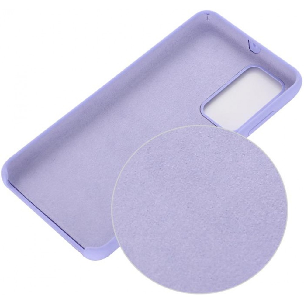 Чехол для Huawei P40 Soft Touch лиловый