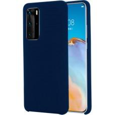Чехол для Huawei P40 Soft Touch синий