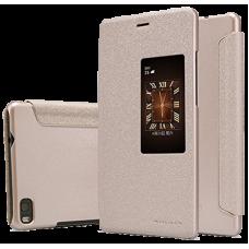 Чехол Nillkin для Huawei P8 золотой