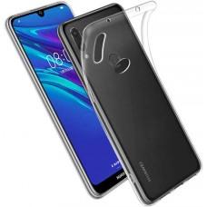Чехол для Huawei Y6 2019 силиконовый прозрачный