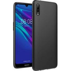 Чехол для Huawei Y6 Pro 2019 силиконовый черный