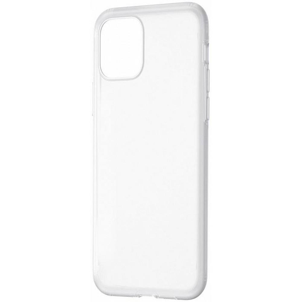 Чехол для iPhone 11 Pro Baseus Jelly Liquid Silica Gel белый