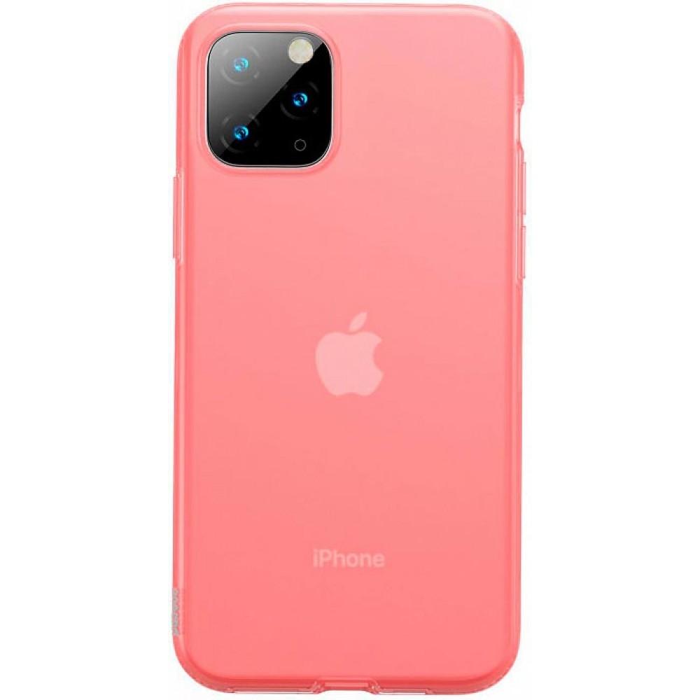 Чехол для iPhone 11 Pro Baseus Jelly Liquid Silica Gel красный