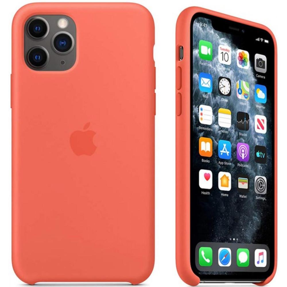 Чехол для iPhone 11 Pro цвет оранжевый