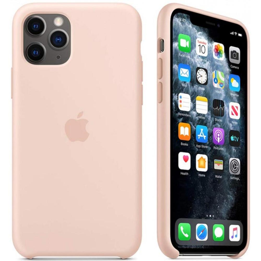 Чехол для iPhone 11 Pro цвет розовый