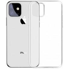 Чехол для iPhone 11 силиконовый прозрачный Baseus