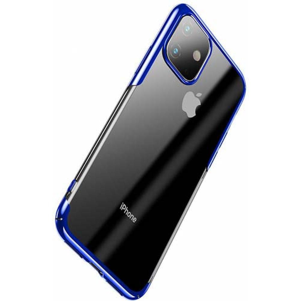 Чехол для iPhone 11 Baseus Glitter Case Blue