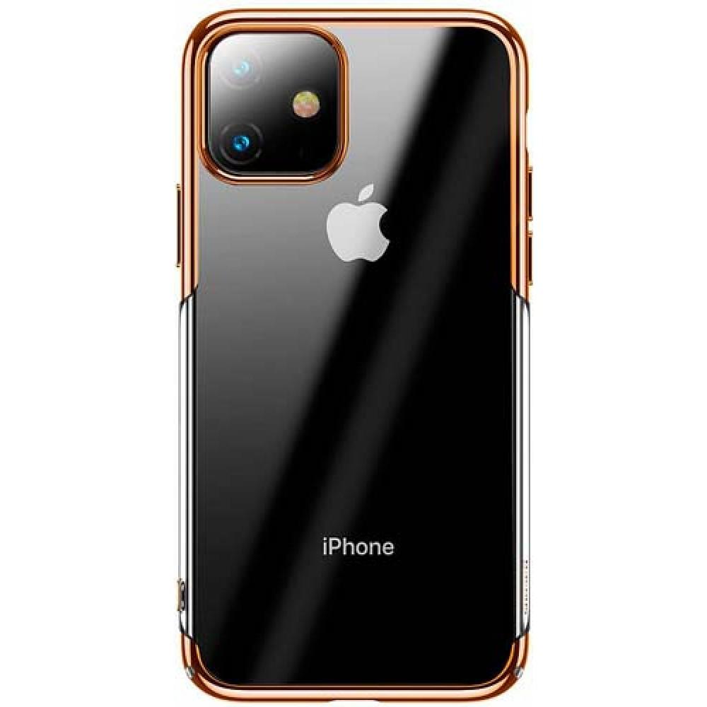 Чехол для iPhone 11 Baseus Glitter Case Gold