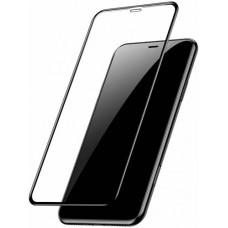 Стекло для iPhone 11 с черной рамкой Baseus Full-glass Tempered 0.3mm