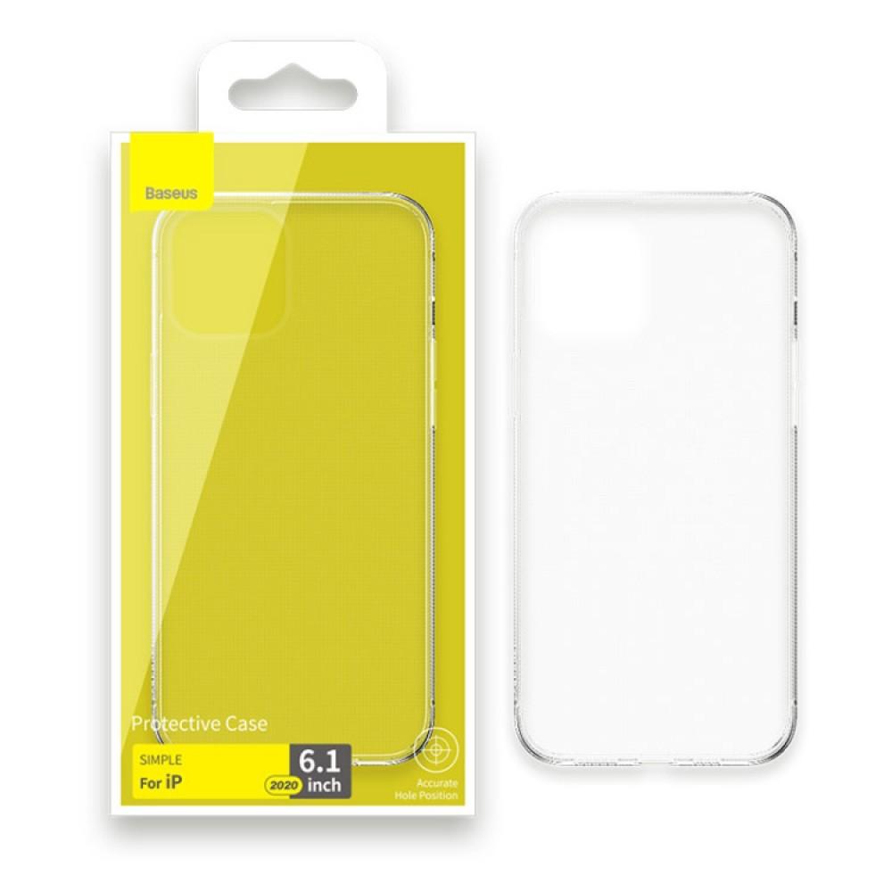 Чехол для iPhone 12 / 12 Pro Baseus Simple Case